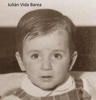 Imagen vieja de <strong>Julián Vida</strong> Barea con pocos años, sin ser SEO